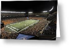 Aloha Stadium Night Game Greeting Card