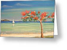 Aloha Greeting Card by The Beach  Dreamer