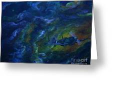 Alone In The Clouds Greeting Card