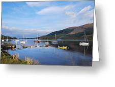Along Loch Leven 2 Greeting Card
