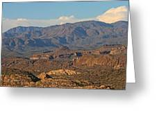 Along The Apache Trail Greeting Card