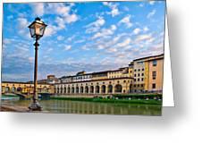 Along The Arno #2 Greeting Card