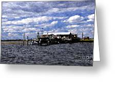 Along The Bay Greeting Card
