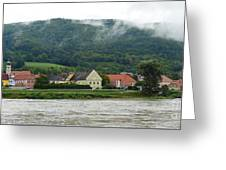 Along The Blue Danube Greeting Card