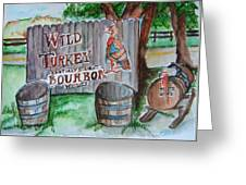 Along The Bourbon Trail Greeting Card