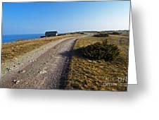 Along The Coast Of Baltic Sea Greeting Card