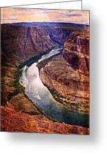 Along The Colorado River Greeting Card