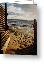 Along The Dunes Greeting Card