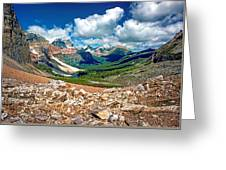 Along The Great Divide Greeting Card