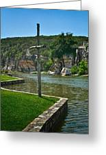 Along The Guadalupe Greeting Card