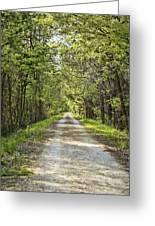 Along The Katy Trail Greeting Card
