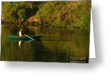 Along The Nile Greeting Card