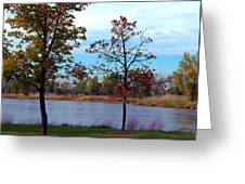 Along The Platte Greeting Card