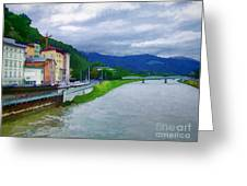 Along The Rhine Greeting Card
