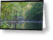 Along The Wissahickon In October Greeting Card