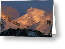Alpen Glow Greeting Card