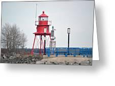 Alpena Lighthouse Greeting Card