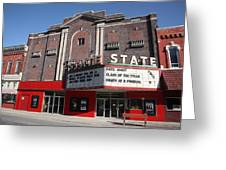 Alpena Michigan - State Theater Greeting Card