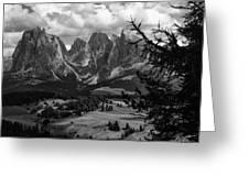 Alpes IIi Greeting Card