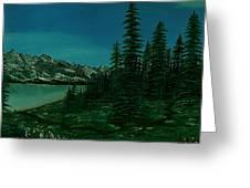 Alpine Garden Greeting Card