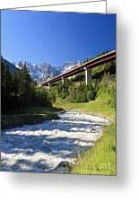 Alpine Highway Greeting Card