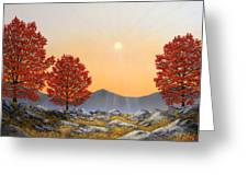 Alpine Meadow II Greeting Card