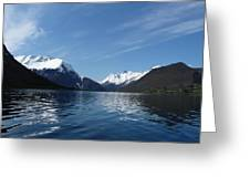 Alpine Mirror Greeting Card