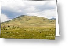 Alpine Mountain  Greeting Card
