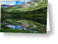 Alpine Reflections Greeting Card