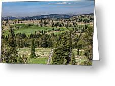 Alpine View Greeting Card