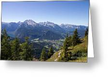 Alps Greeting Card