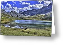 Alps South France Greeting Card