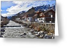 Alps Vicinity Greeting Card