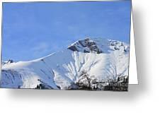 Alps Vista  Greeting Card