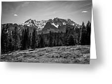 Alpspitze Till Zugspitze II Greeting Card