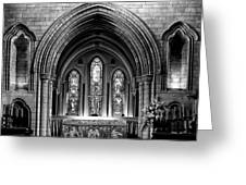 Altar At St Patricks Cathedral - Close Up Greeting Card by Photography  By Sai