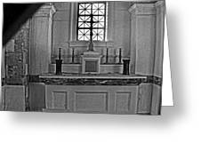 Altar Of The Dead... 01 Greeting Card