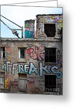 Alte Eisfabrik Berlin Greeting Card