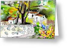 Altea La Vieja 04 Greeting Card