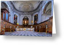 Alter At St Martins Cathedral Greeting Card