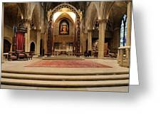Alter Of St. Josheph's Greeting Card by Dick Wood