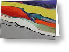 Altered Landscape Greeting Card
