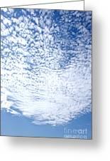 Altocumulus Stratiformis Perlucidus Cloud Greeting Card