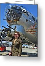 Aluminum Overcast 2 Greeting Card