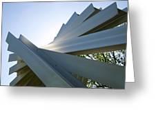 Aluminum Sculpture Detail Greeting Card