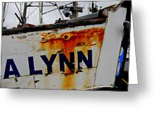 Alynn Greeting Card by Mamie Gunning