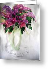 Alyvos - Lilacs Greeting Card