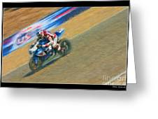 Ama Superbike Martin Cardenas Greeting Card