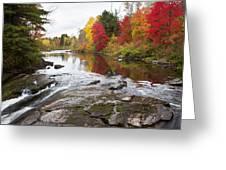 Amable Du Fond Autumn Greeting Card