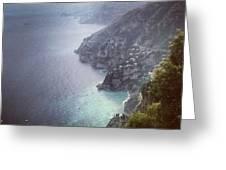 Amalfi Coast And Beyond Greeting Card by H Hoffman
